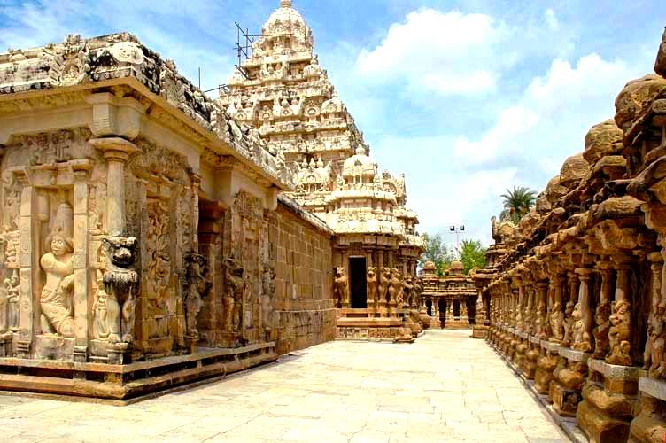 Kanchipuram Kailashanatha temple 1